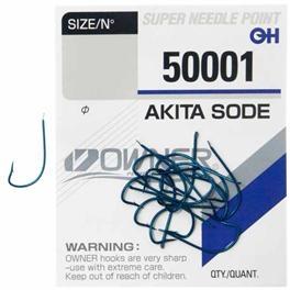 Haczyk Kamatsu + Przypon 50 cm Chika Ochotka Czerwony nr10