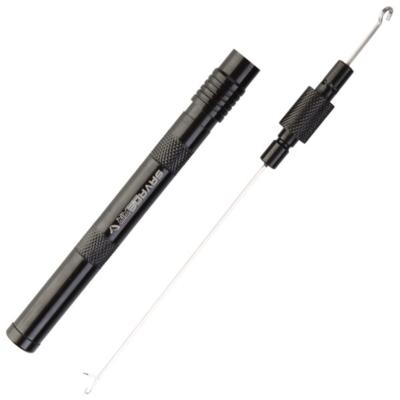 HACZYK DO METODY 10 cm PUSH STOP - haczyk z zadziorem: 10 / plecionka: 0.12 mm - op.8szt