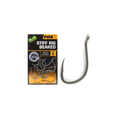 Haczyk Kamatsu + Przypon 50 cm Crystal Okoń nr4